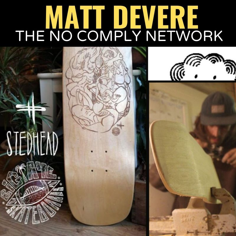Matt Devere The No Comply Network Graphic