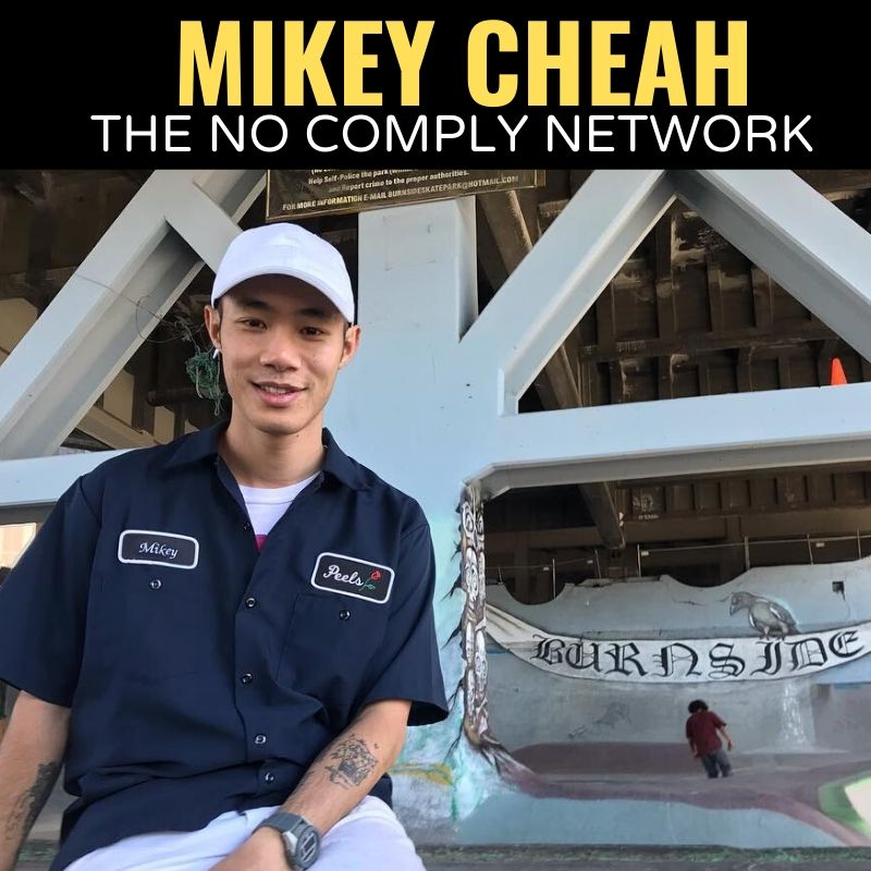 Mikey Cheah The No Comply Network Graphic