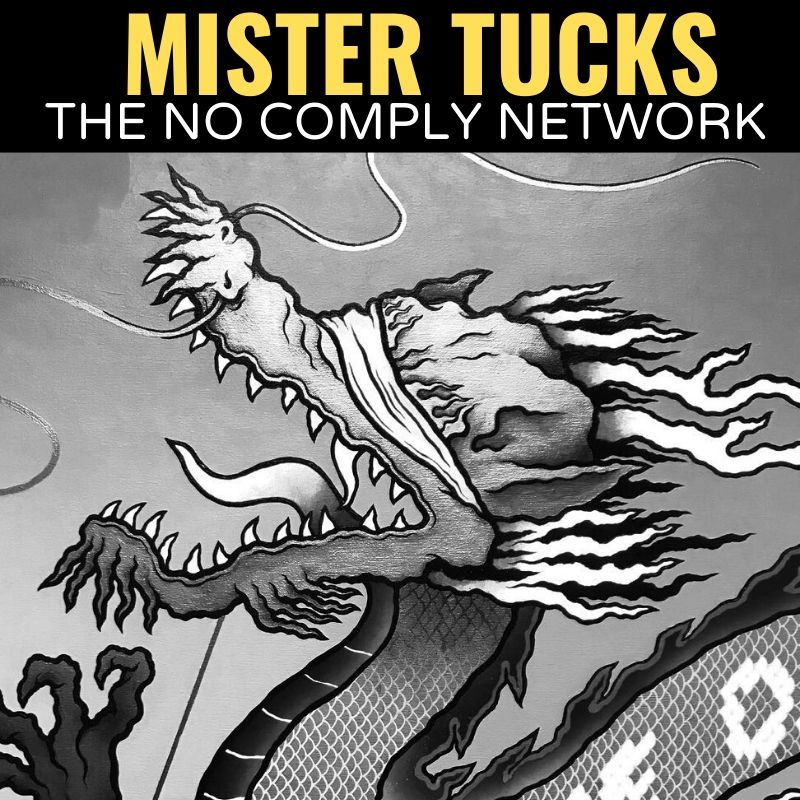 Mister Tucks The No Comply Network Graphic One