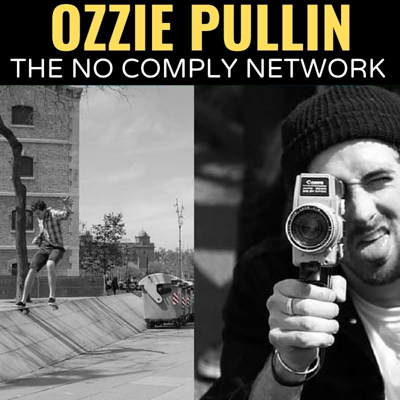 Ozzie Pullin The No Comply Network Graphic