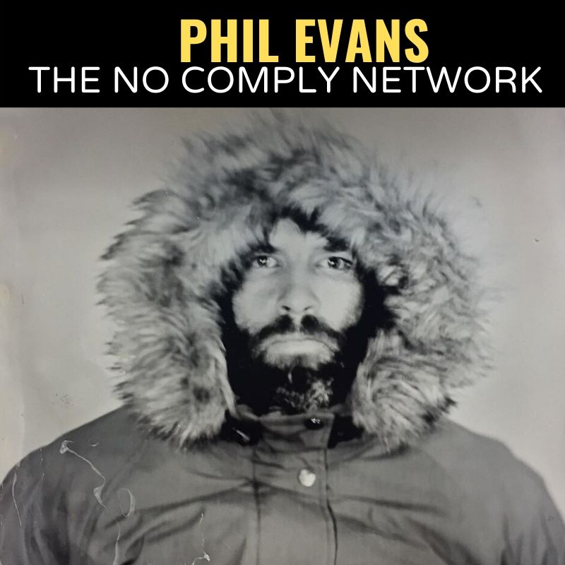 Phil Evans The No Comply Network Graphic