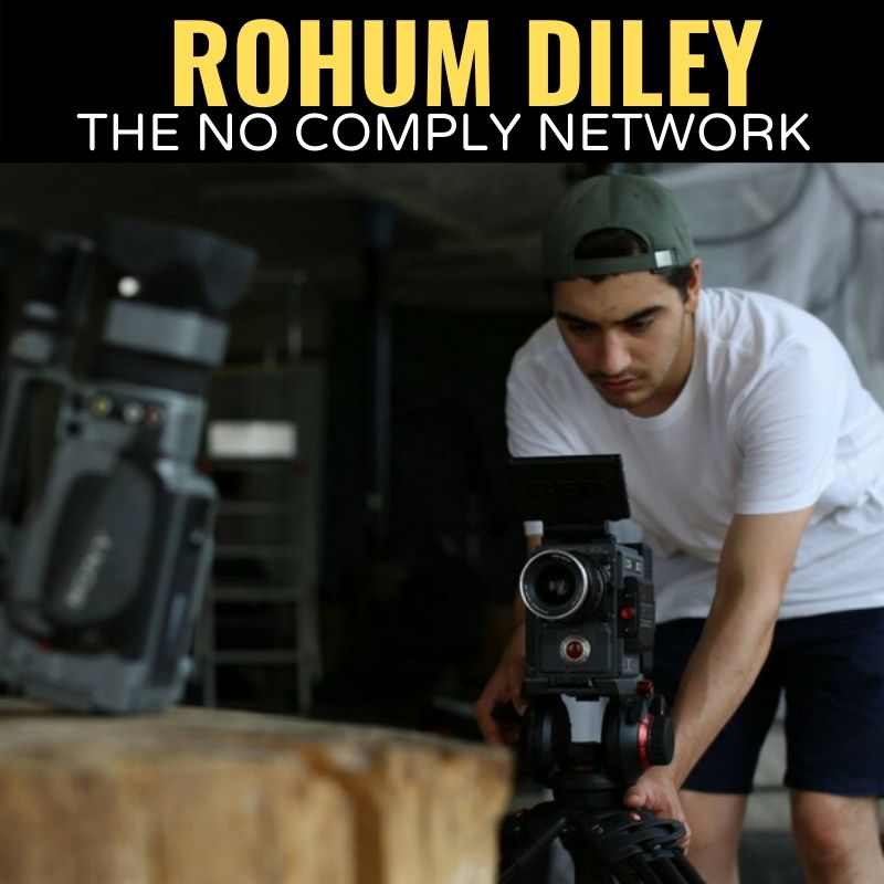 Rohum Diley The No Comply Network Graphic 1