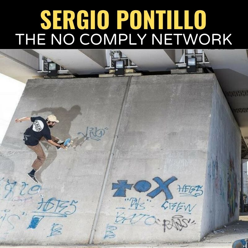 Sergio Pontillo The No Comply Network Graphic