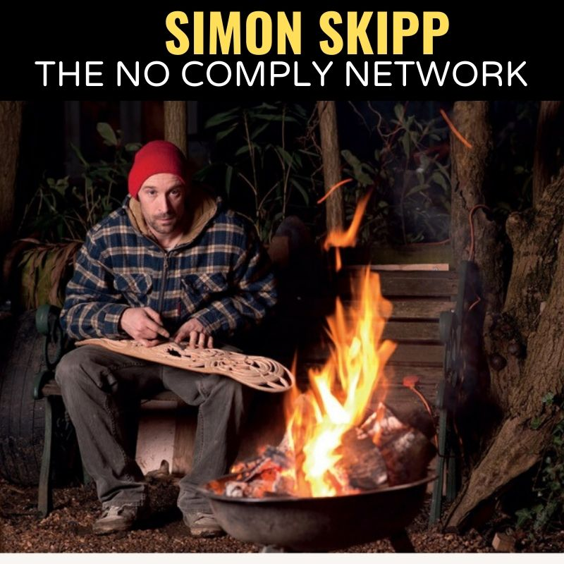 Simon Skipp The No Comply Network Graphic