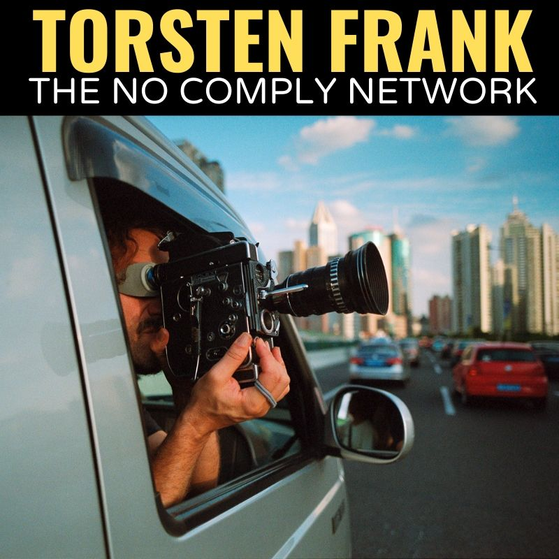 Torsten Frank The No Comply Network Graphic One