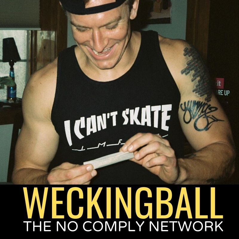 Weckingball The No Comply Network Graphic 1