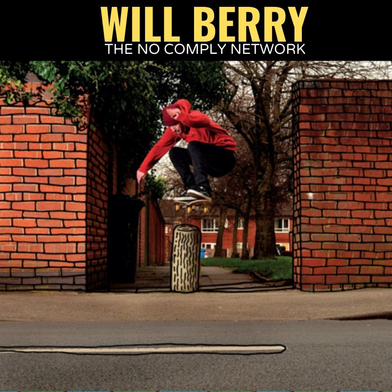 Will Berry The No Comply Network Graphic