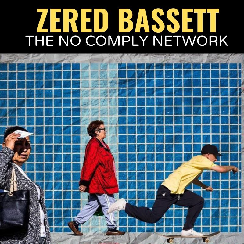 Zered Bassett The No Comply Network Graphic