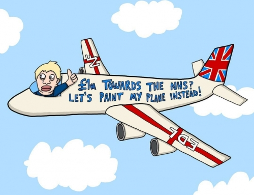 The Brexit Banjud in his steezy new plane? – – – – – – – – – – – – – #borisjohns