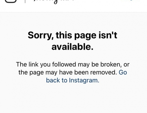 So for the second time this year Instagram have decided to take my Real Fake Bra