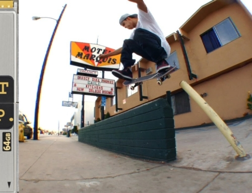 Luis Tolentino Lost & Found Skateboarding Clip #40 Los Angeles