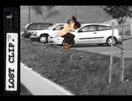 Fabrizio Santos Lost Skateboarding Clip #17 Switch Backside 180
