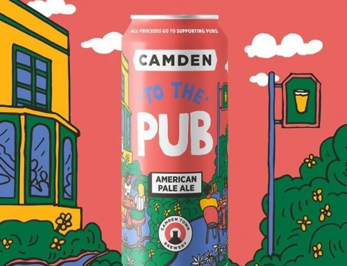 For @camdentownbrewery charity beer to support the pub industry….