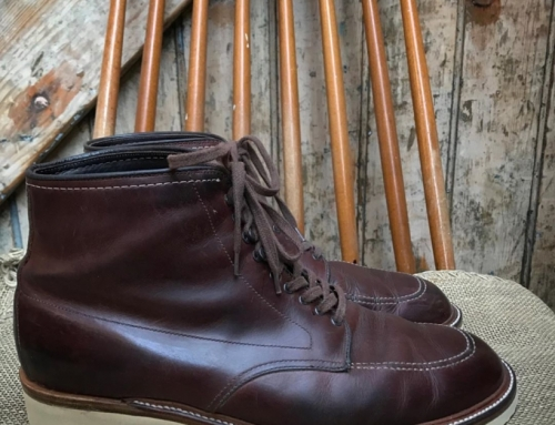 A pair of Alden Indy boots in for a whole new look with the @dr_sole_originals c