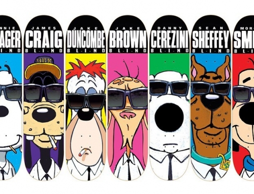 Unreleased @blindskate #reservoirdogs series, c. 2012