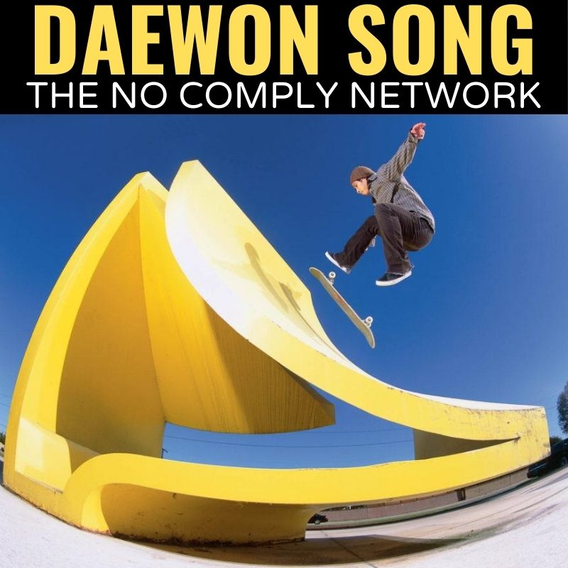 Daewon Song The No Comply Network Graphic