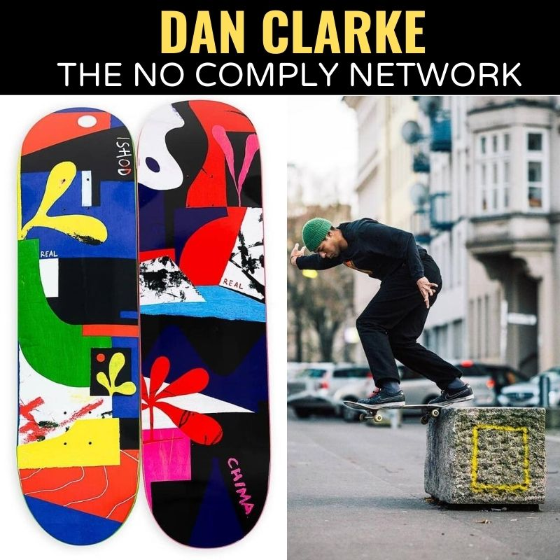 Dan Clarke The No Comply Network Graphic
