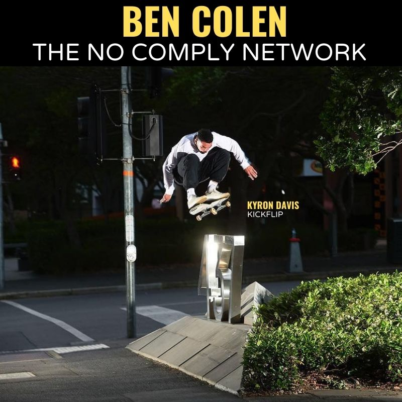 Ben Colen The No Comply Network Graphic
