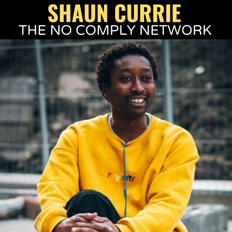 Shaun Currie The No Comply Network Graphic