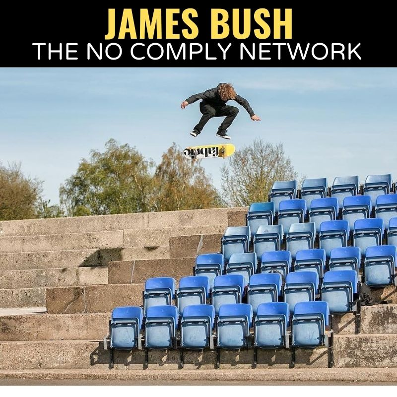 James Bush The No Comply Network Graphic