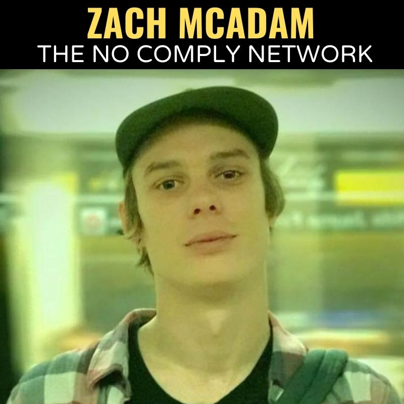 Zach McAdam The No Comply Network Graphic