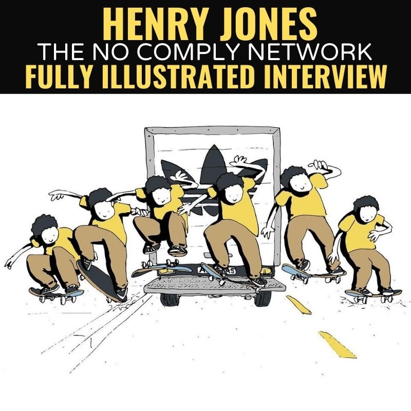 Henry Jones Fully Illustrated Interview Graphic Main