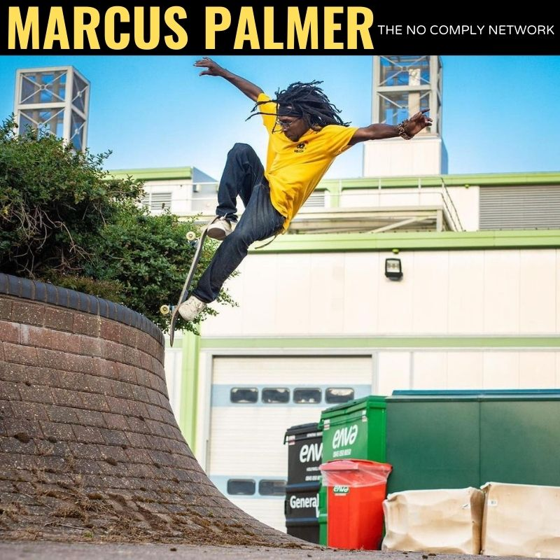 Marcus Palmer The No Comply Network Graphic