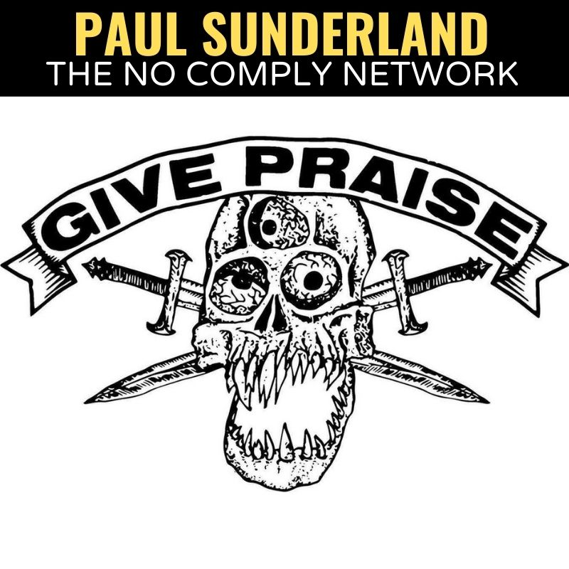 Paul Sunderland The No Comply Network Graphic