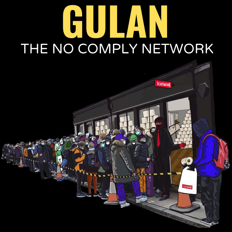 Gulan The No Comply Network Member Graphic