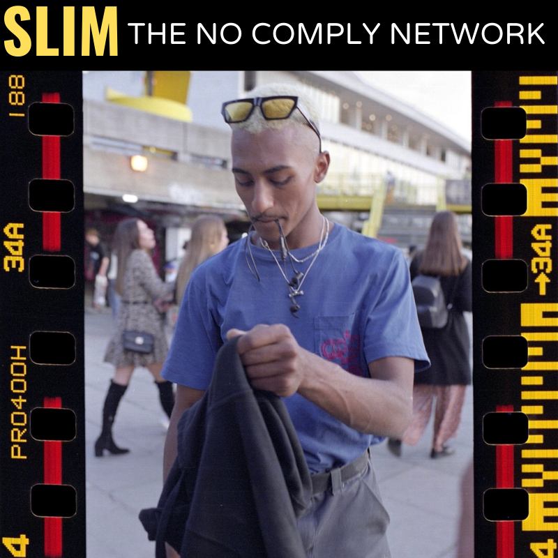 Slim The No Comply Network Member Graphic One