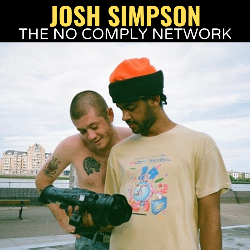 Josh Simpson The No Comply Network Graphic One