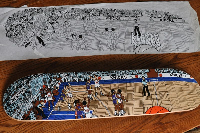 Benny Brown Fully Illustrated Interview Images Keenan Milton New York Knicks 1996