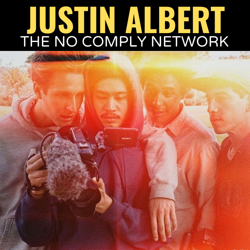 Justin Albert The No Comply Network Graphic