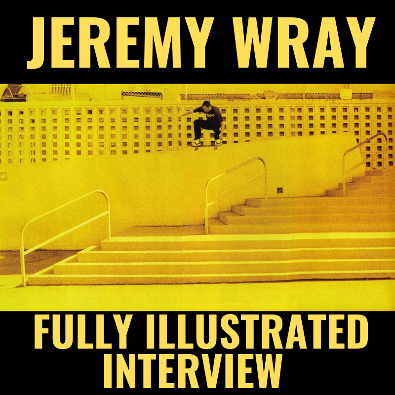 Jeremy Wray Fully Illustrated Graphic